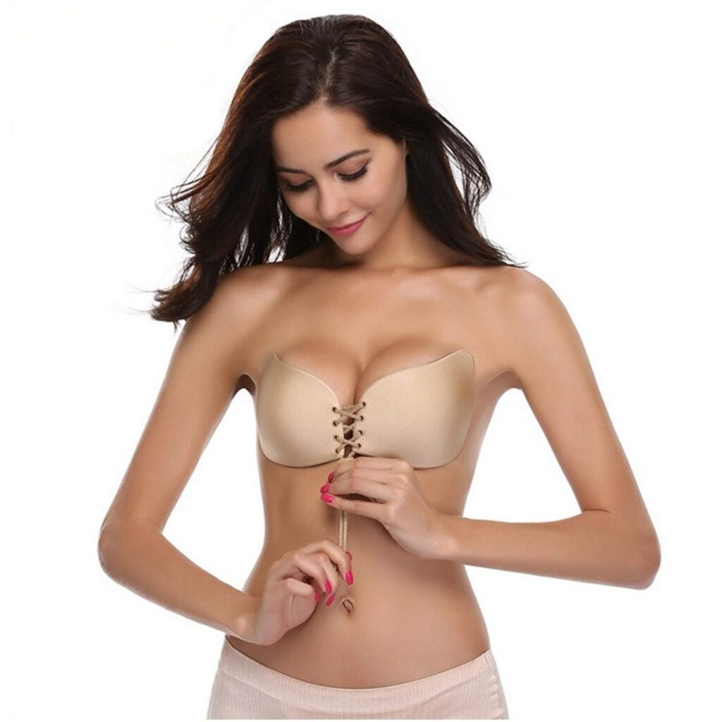 best stick on bra for large bust in UK